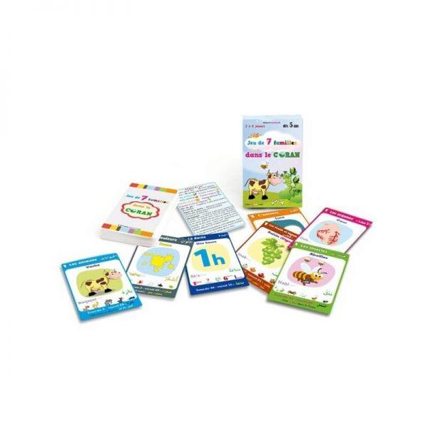 Jeux coran cartes enfants