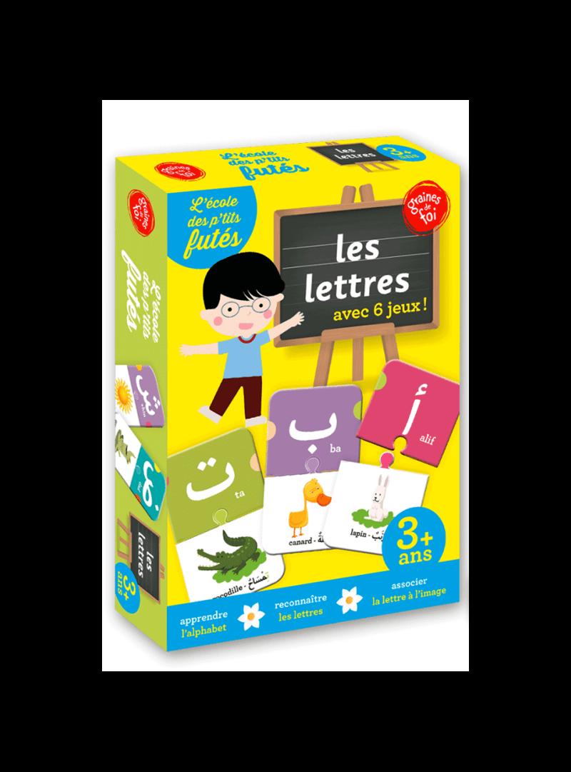 lettres arabes 6 jeux en 1 kidludik. Black Bedroom Furniture Sets. Home Design Ideas