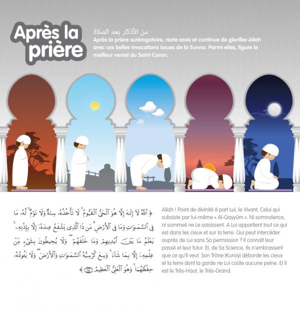 kit de prière coloré