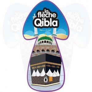 La flèche qibla direction de la Mecque