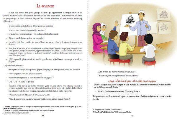 livre de lecture enfants hadiths