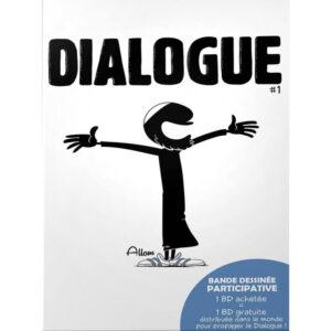 Bande dessinée dialogue Bdouin